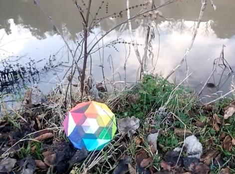 """Vidéo-Poème """"Boule à facettes"""""""